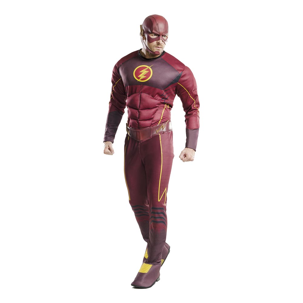 The Flash Deluxe Maskeraddräkt - Standard