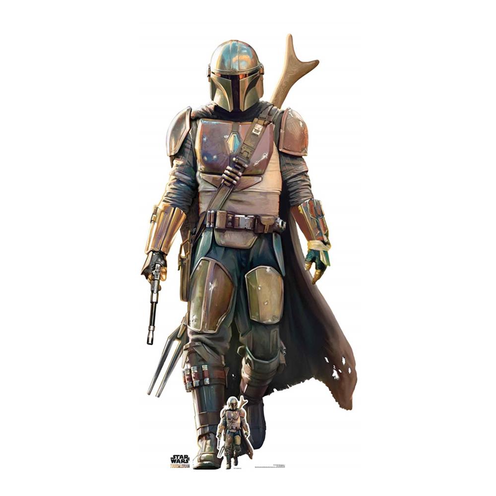Star Wars The Mandalorian Kartongfigur