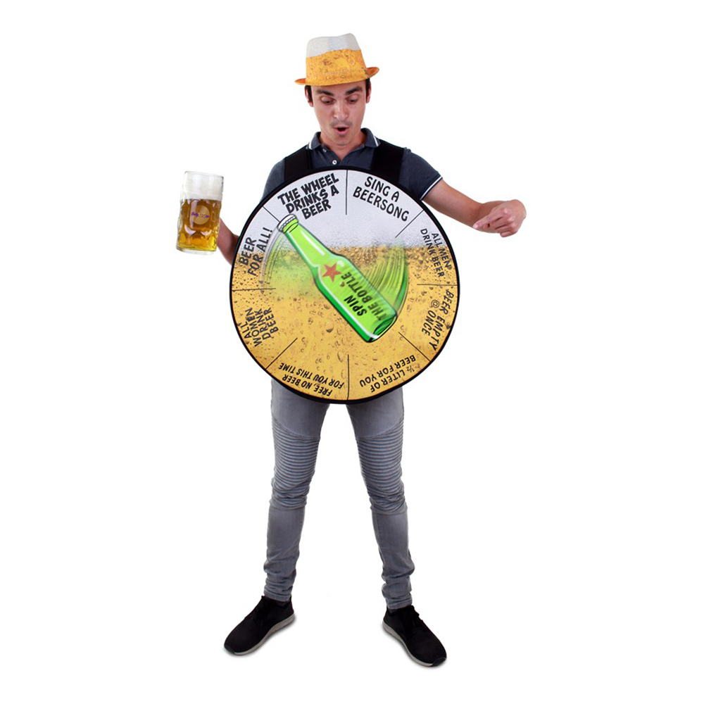 The Wheel of Beer Maskeraddräkt - One size