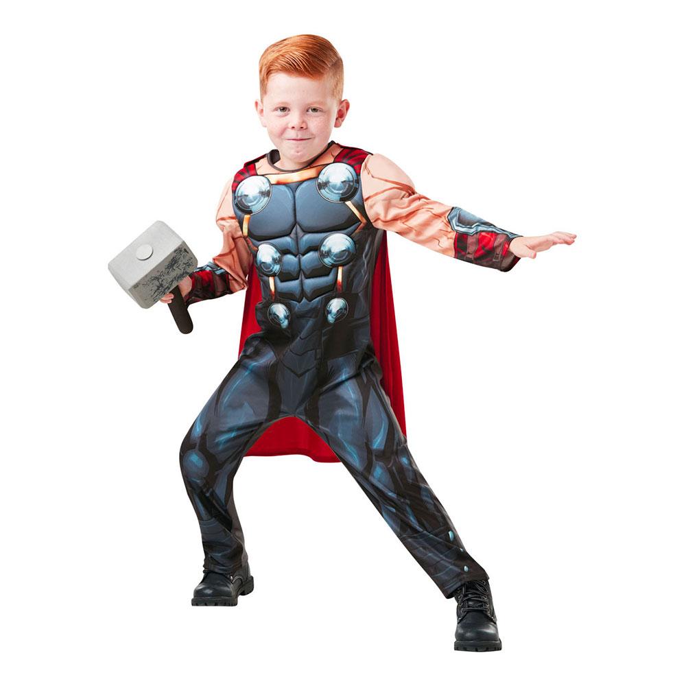 Thor Deluxe Barn Maskeraddräkt - Medium