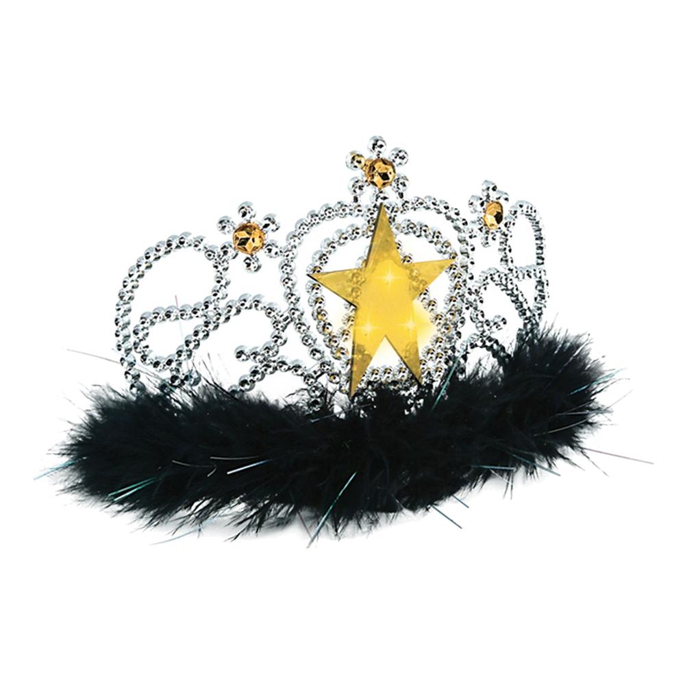 Tiara med Lysande Guldstjärna - One size