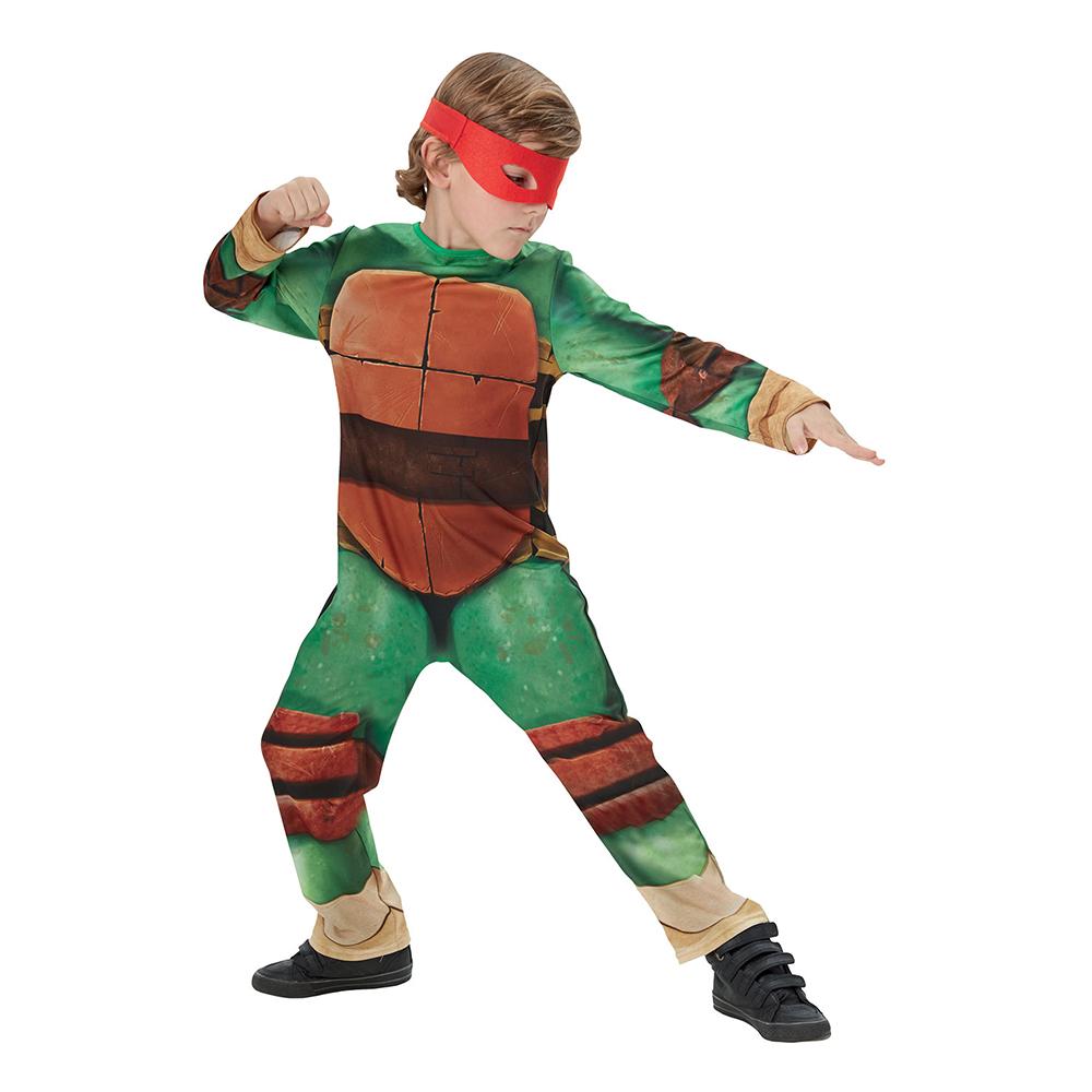 Maskeraddräkter - TMNT Classic Barn Maskeraddräkt - Small