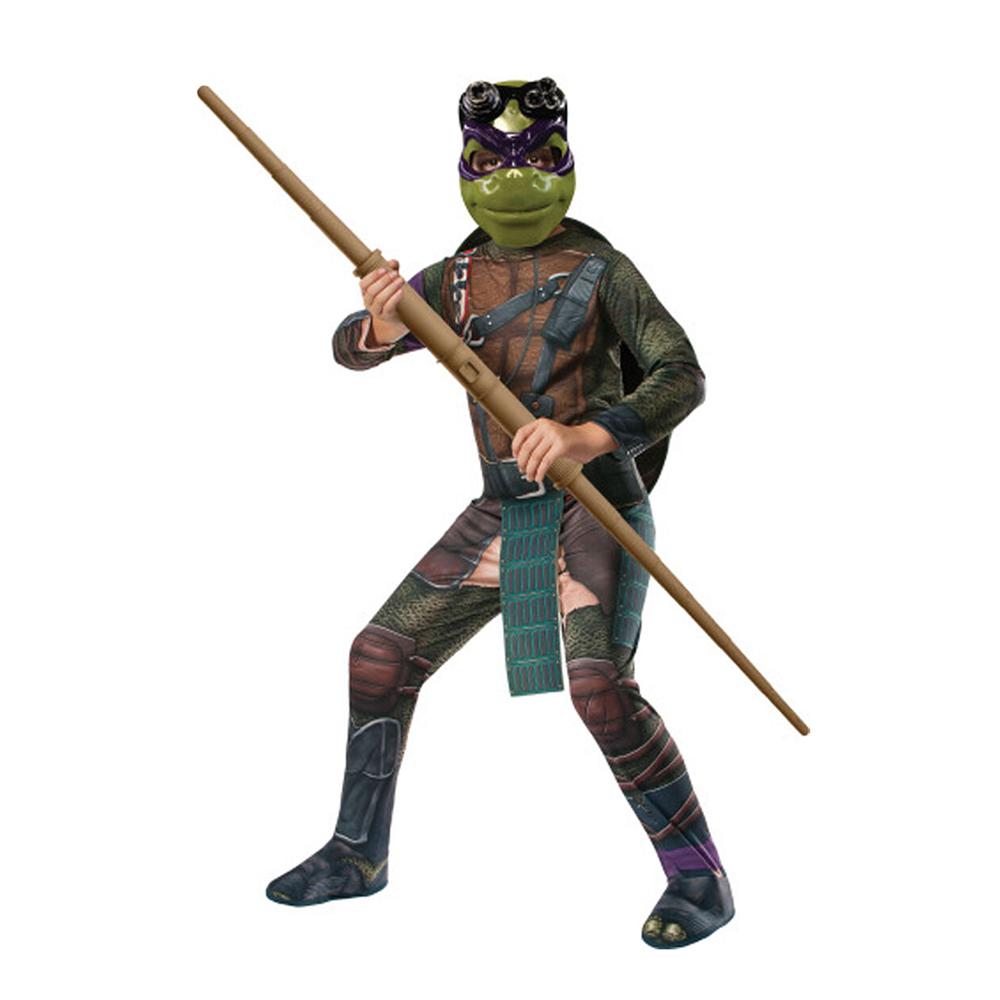 TMNT Donatello Deluxe Barn Maskeraddräkt - Small