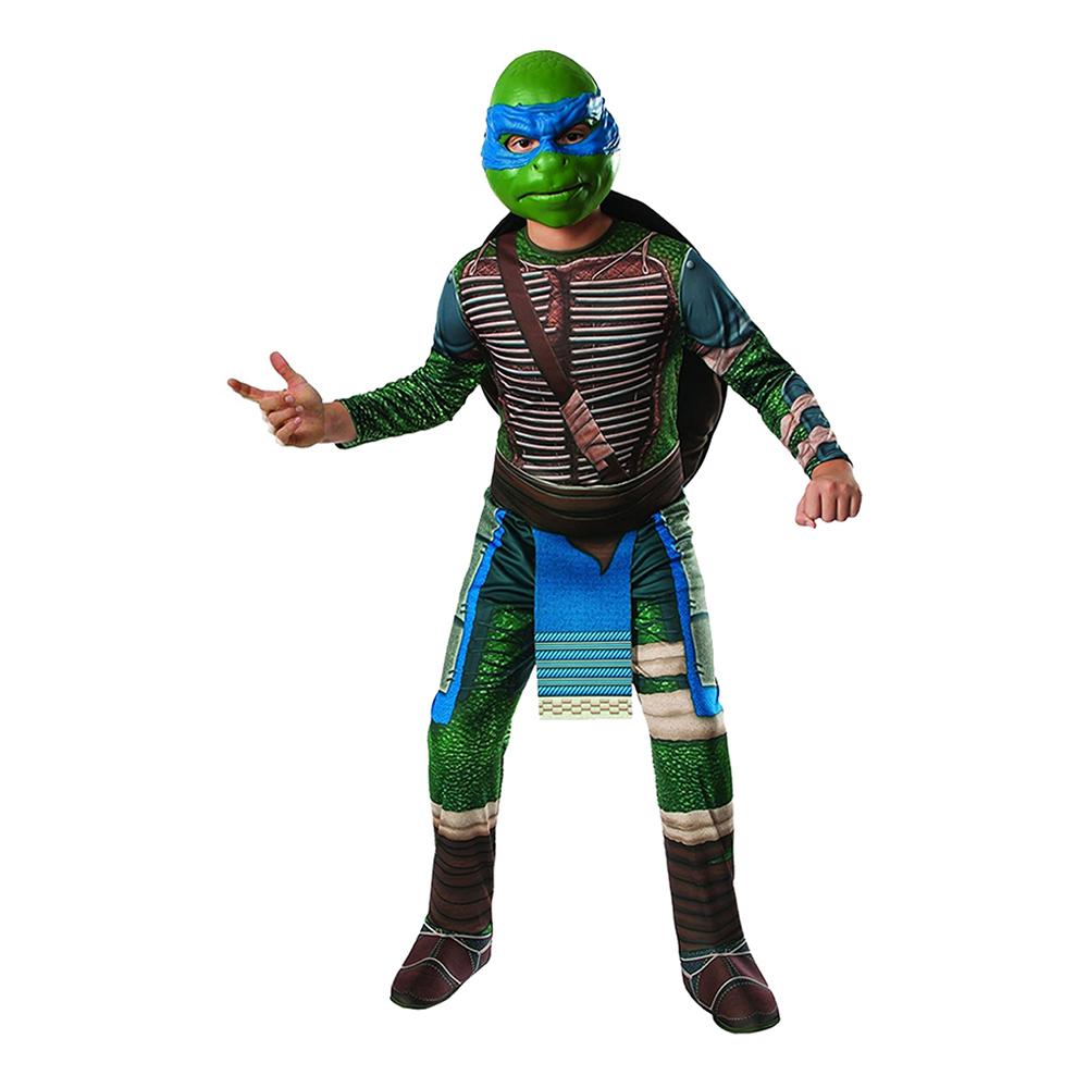 TMNT Leonardo Barn Maskeraddräkt - Small
