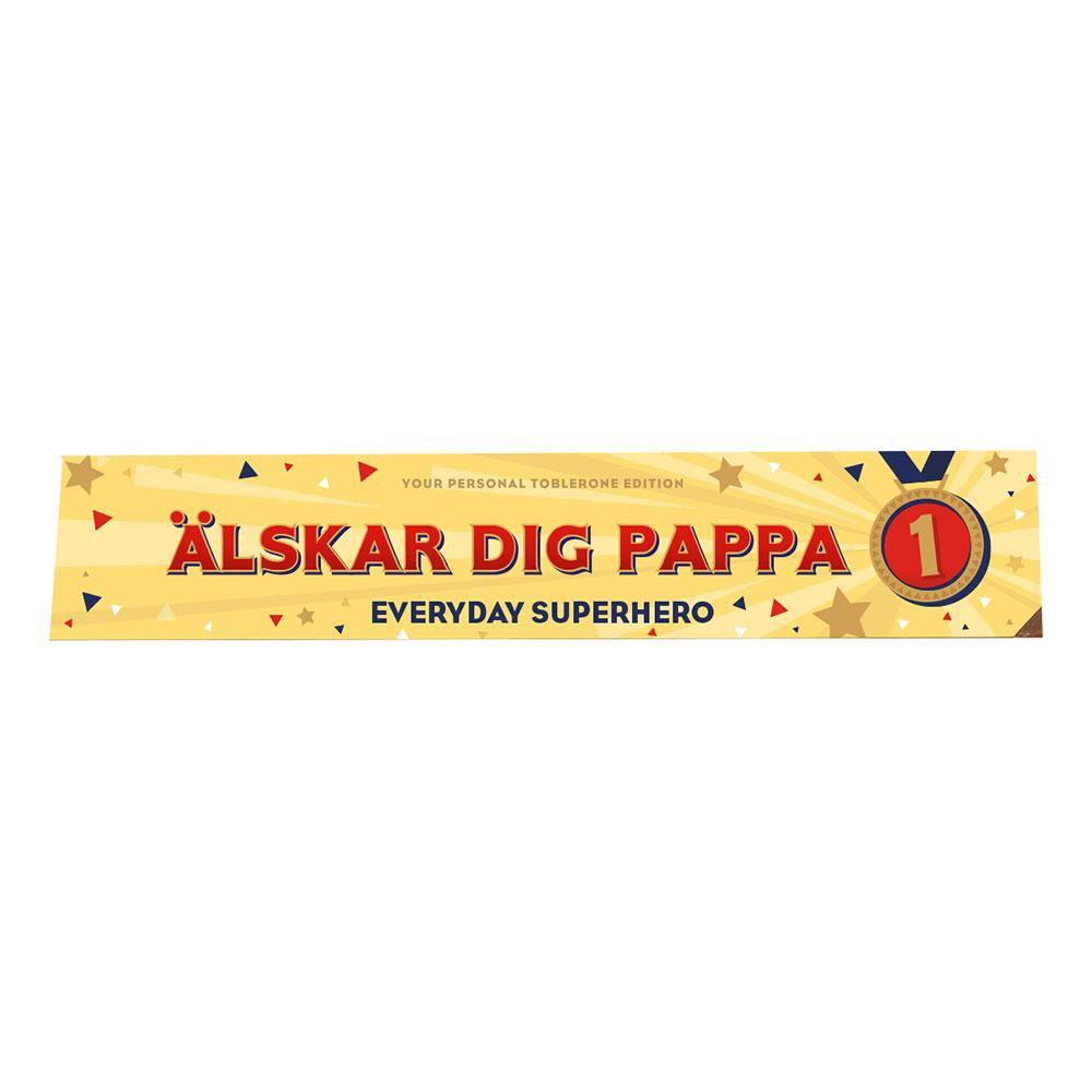 Toblerone Älskar Dig Pappa - 360 gram