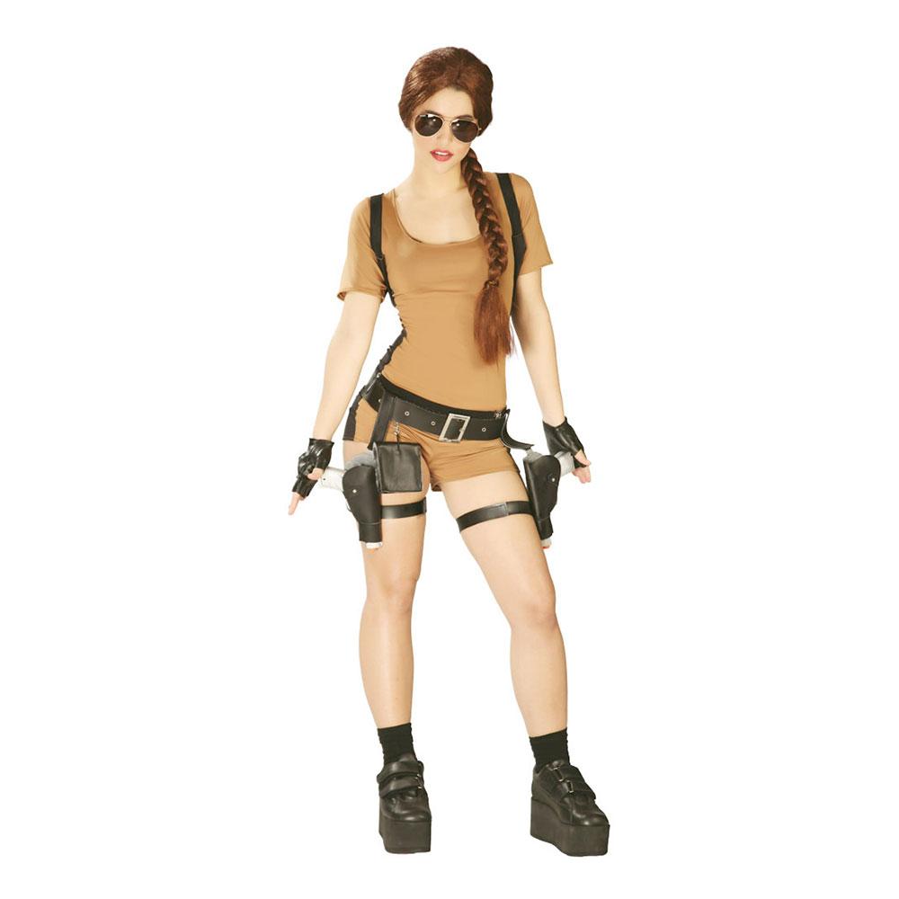Tomb Raider Maskeraddräkt - One size