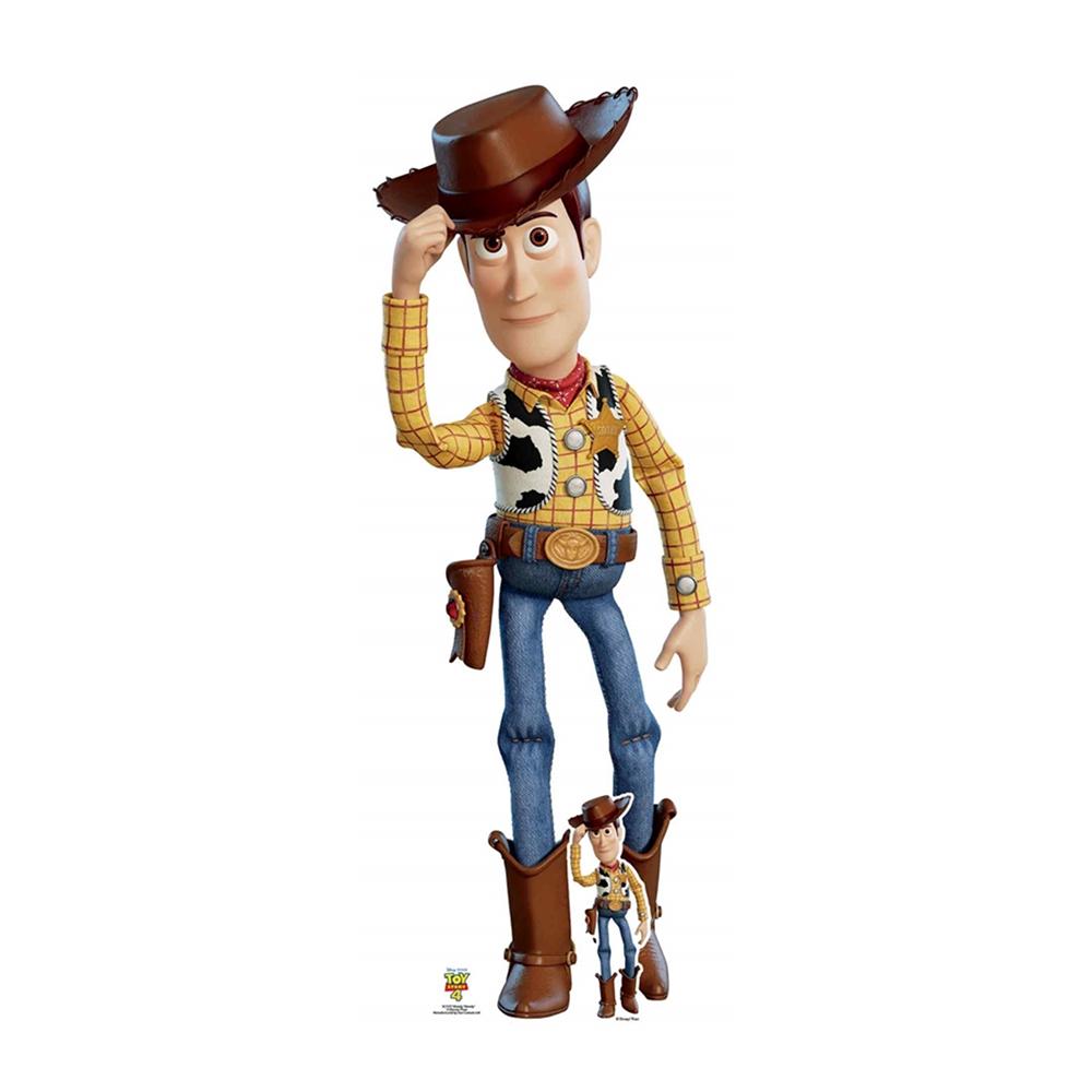 Toy Story 4 Woody Kartongfigur