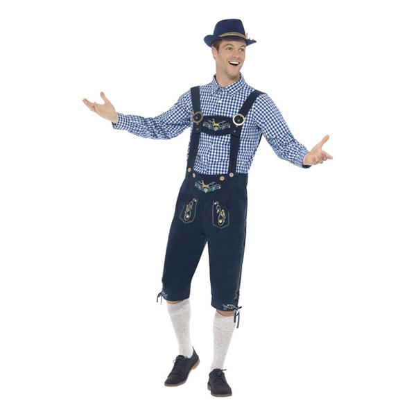Traditional Rutger Bavarian Deluxe Maskeraddräkt - Medium