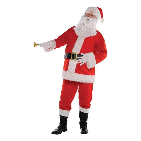 Traditionell Jultomte Maskeraddräkt - One size