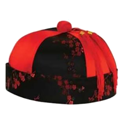 Traditionell Kinesisk Hatt - One size
