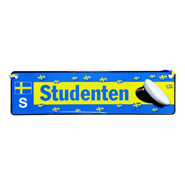 Trafikskylt Student