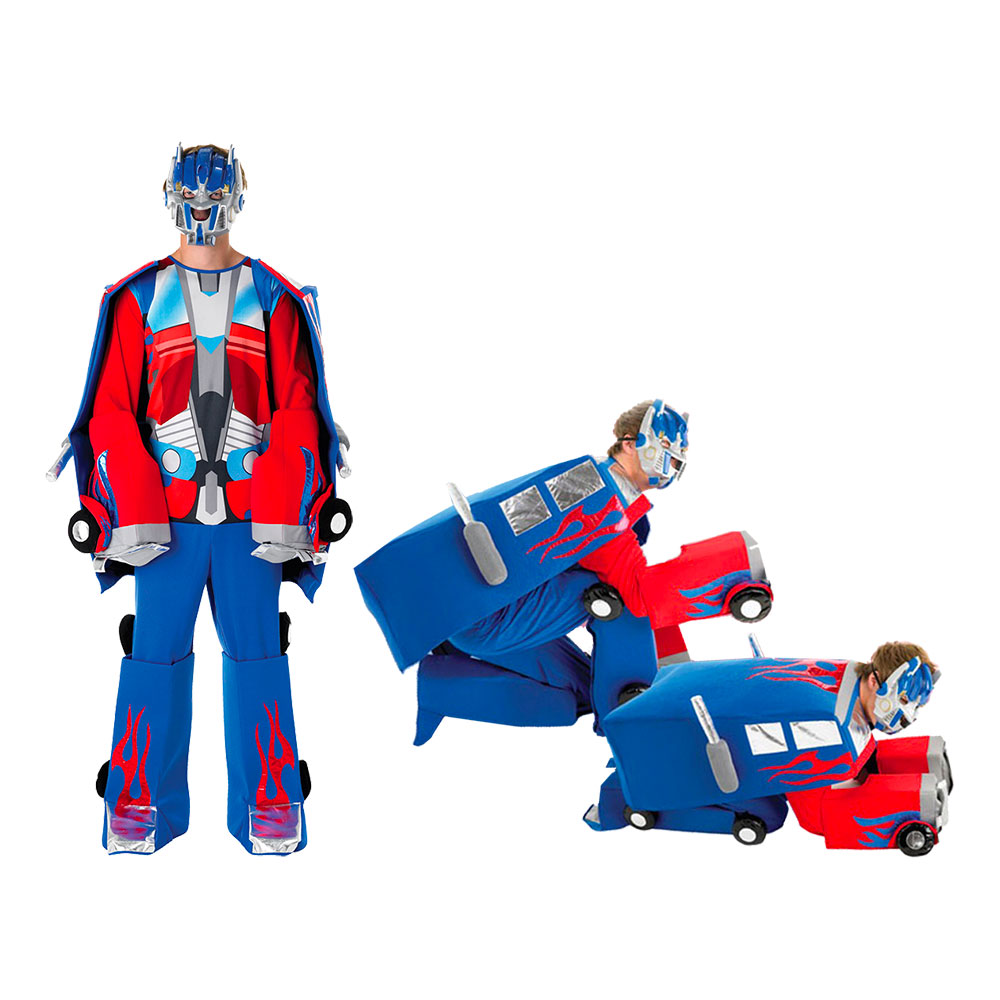 Transformers Optimus Prime Transformerbar Maskeraddräkt - Standard