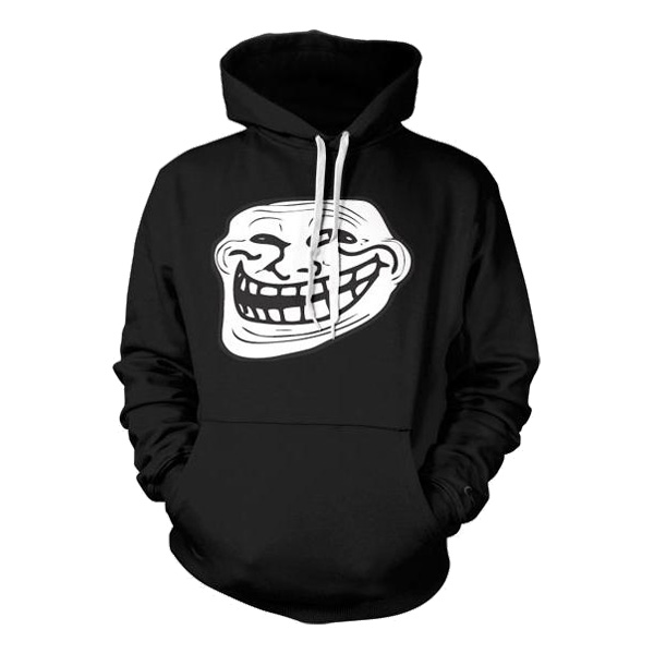 Trollface Hoodie - Small