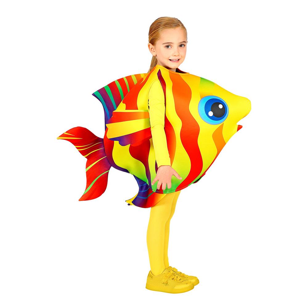 Utklädningsdräkter - Tropisk Fisk Barn Maskeraddräkt - One size