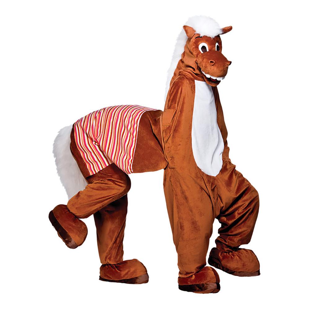 Häst för Två Maskeraddräkt - One size
