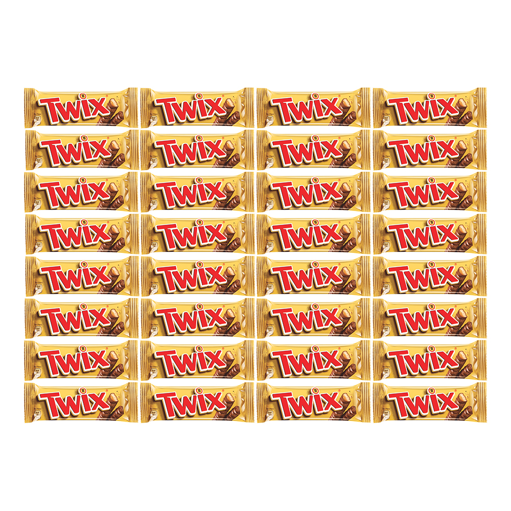 Twix Chokladbit - 32-pack