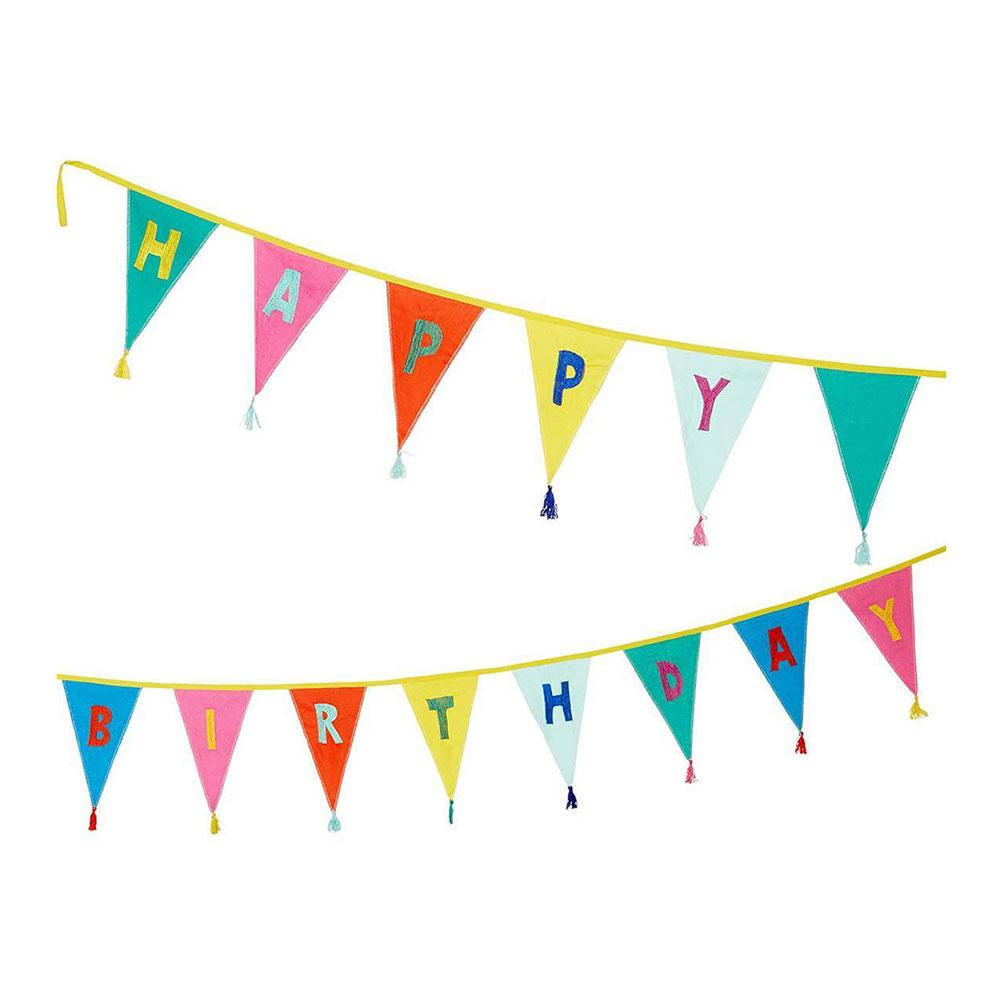 Tyggirlang Rainbow Happy Birthday