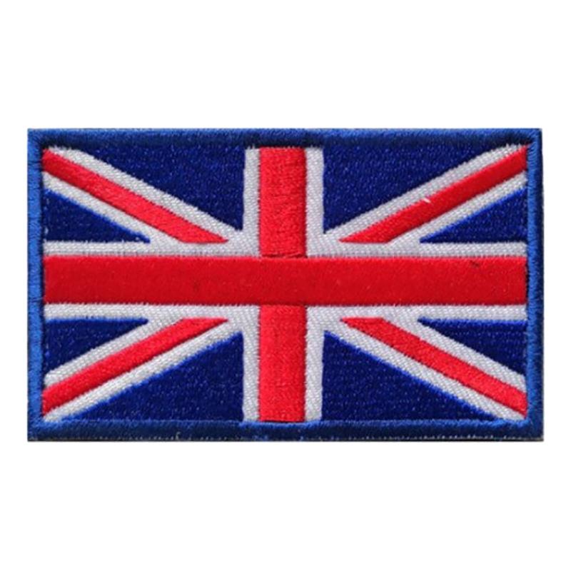Tygmärke Brittiska Flaggan