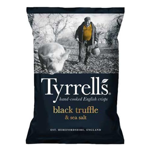 Tyrrells Tryffel & Havssalt - 150 gram