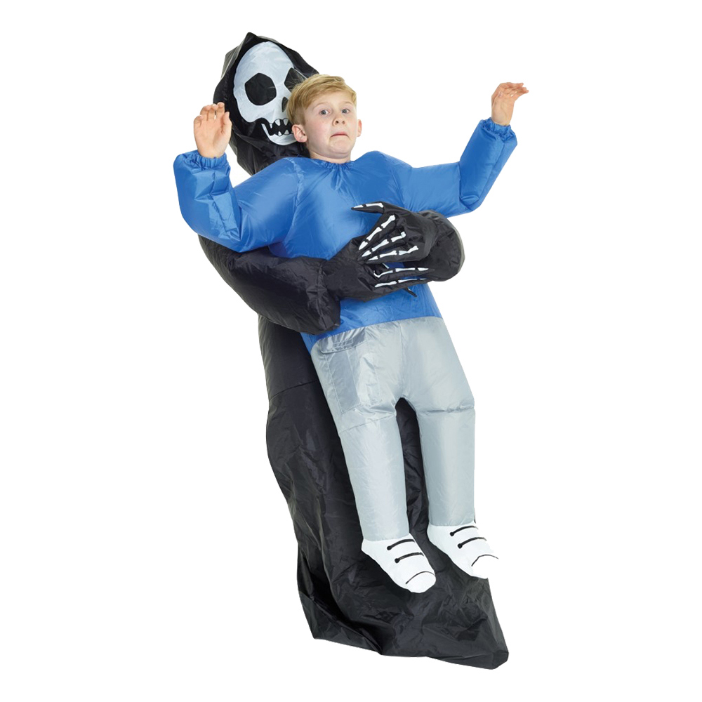 Uppblåsbar Bärande Liemannen Barn Maskeraddräkt - One size