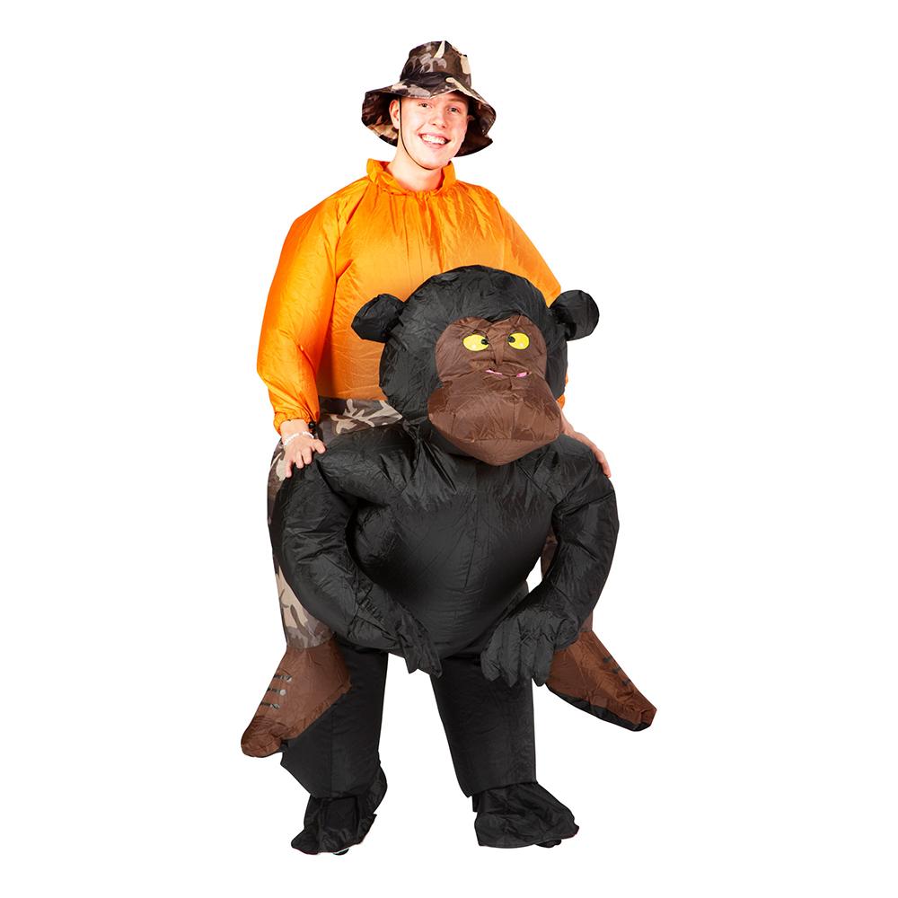 Uppblåsbar Chimpans Maskeraddräkt - One size