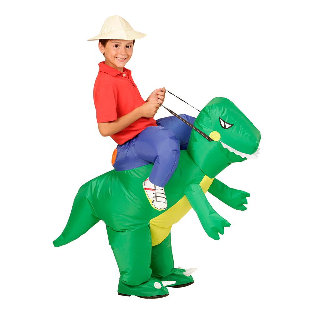 Uppblåsbar Dinosaurie Barn Maskeraddräkt - One size