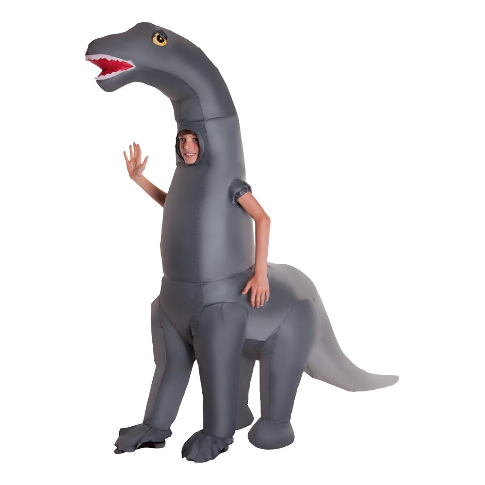 Diplodocus dräkter - Uppblåsbar Diplodocus Barn Maskeraddräkt - One size