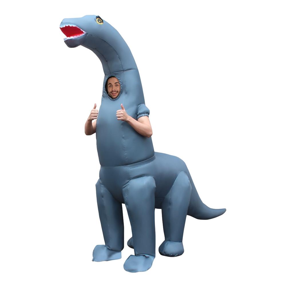 Diplodocus dräkter - Uppblåsbar Diplodocus Maskeraddräkt - One size