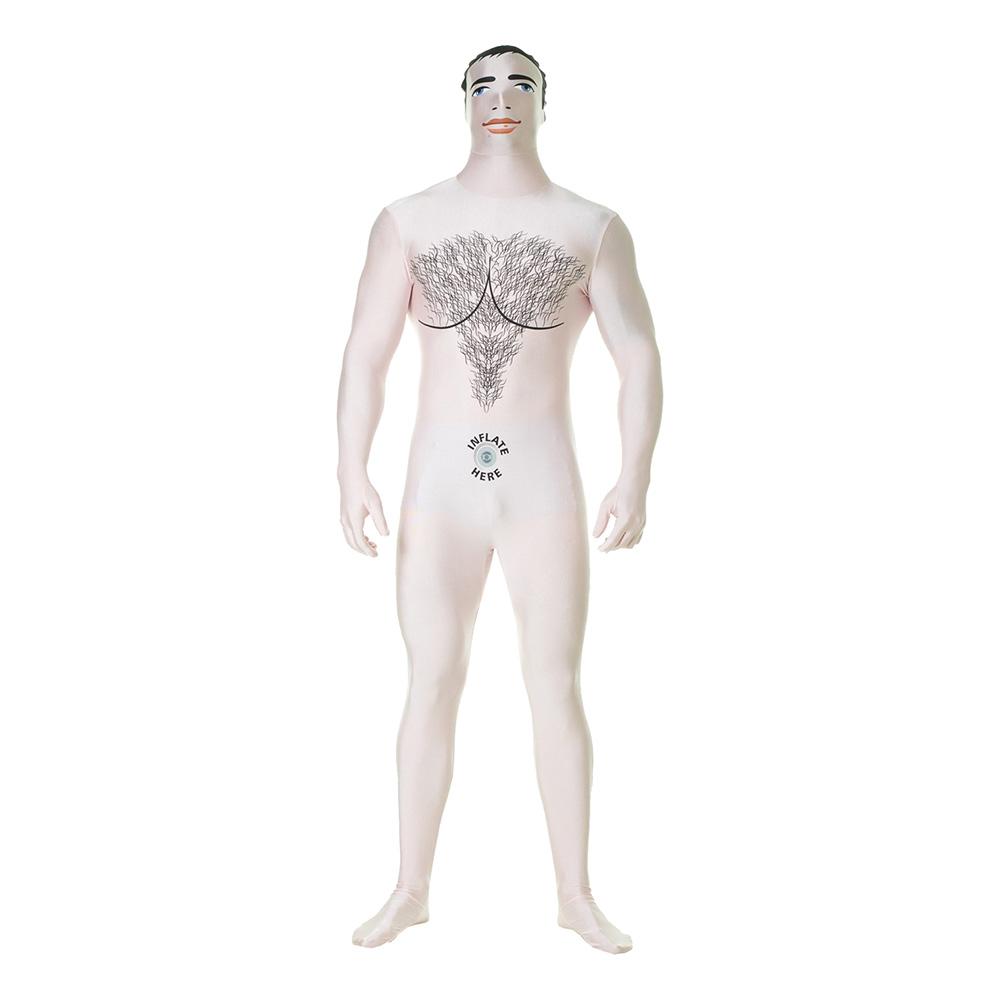 Uppblåsbar Manlig Docka Morphsuit - Medium