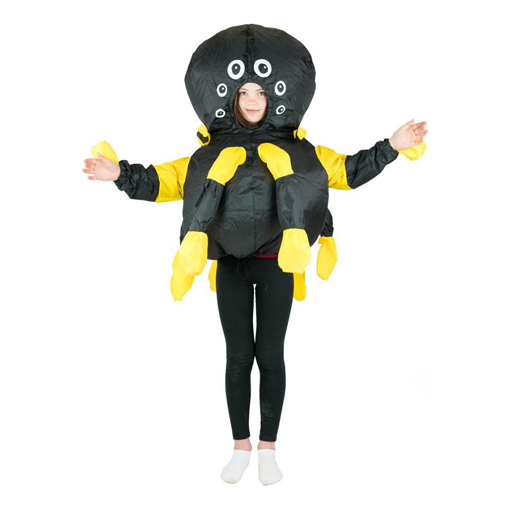 Uppblåsbar Spindel Barn Maskeraddräkt - One size