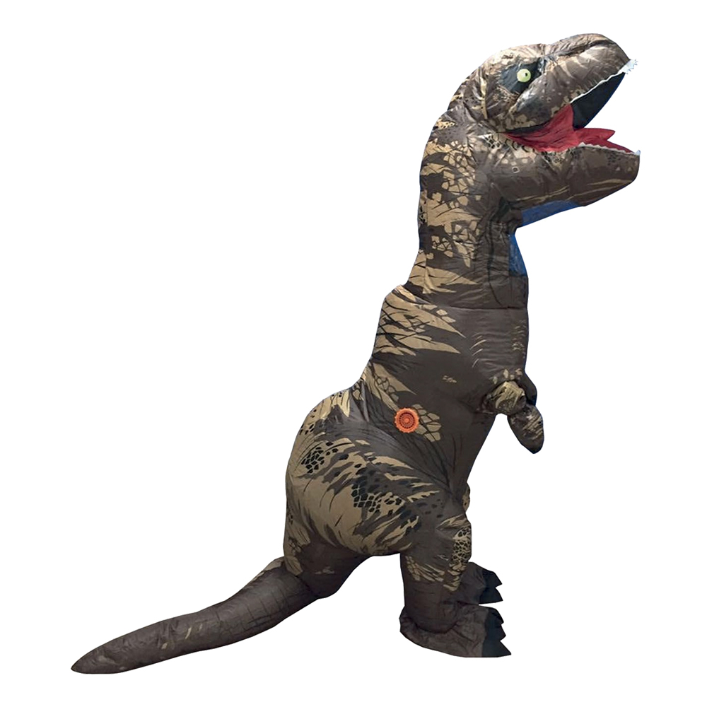 Dinosauriedräkter - Uppblåsbar T-Rex Kamouflage Maskeraddräkt - One size