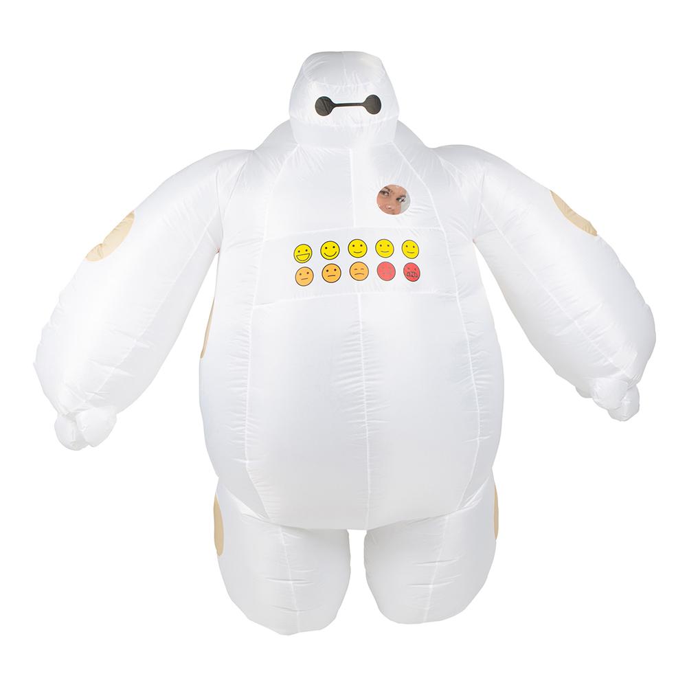 Uppblåsbar Tjock Robot Maskeraddräkt - One size