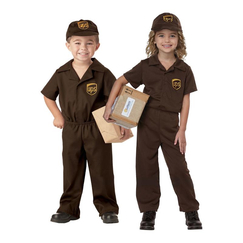 UPS Barn Maskeraddräkt - Small