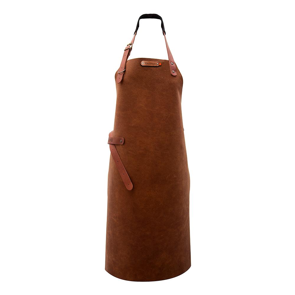 Utah Förkläde Buffelskinn Rust - 74 cm