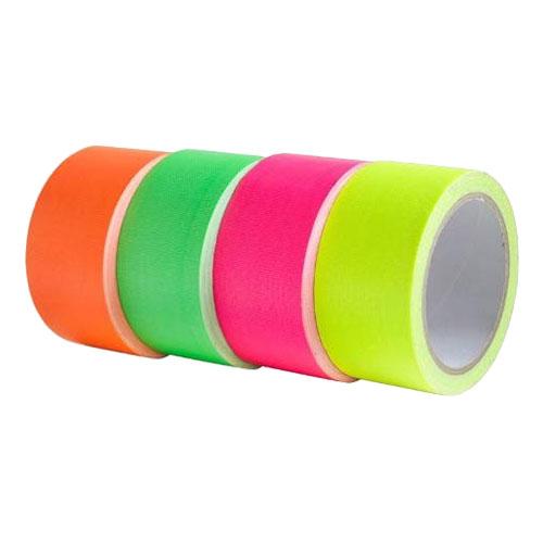 UV Neon Tejp - 4-pack 5x900 cm