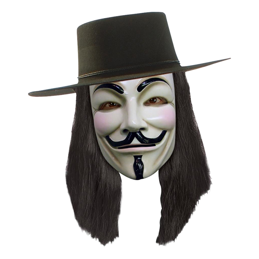 V for Vendetta Peruk - One size