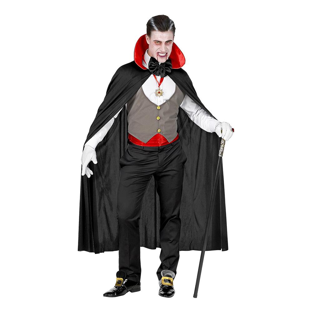 Gammeldags Vampyr Maskeraddräkt - Medium/Large