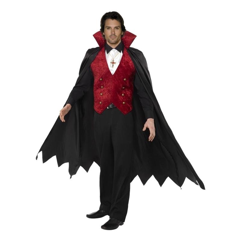 Vampyr Maskeraddräkt - Medium