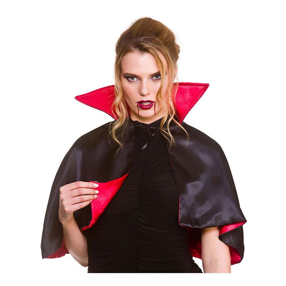 Vampyrcape Kort Deluxe - One size