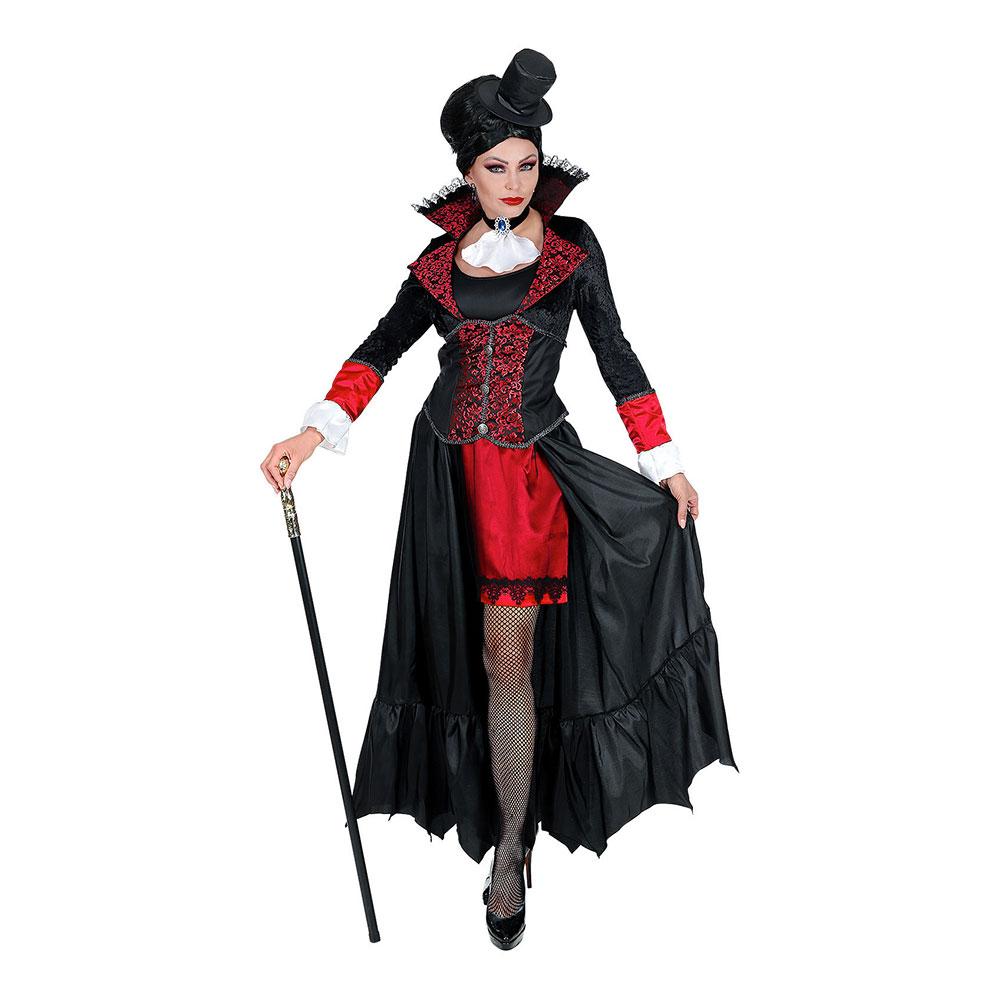 Vampyrkvinna Maskeraddräkt - X-Large