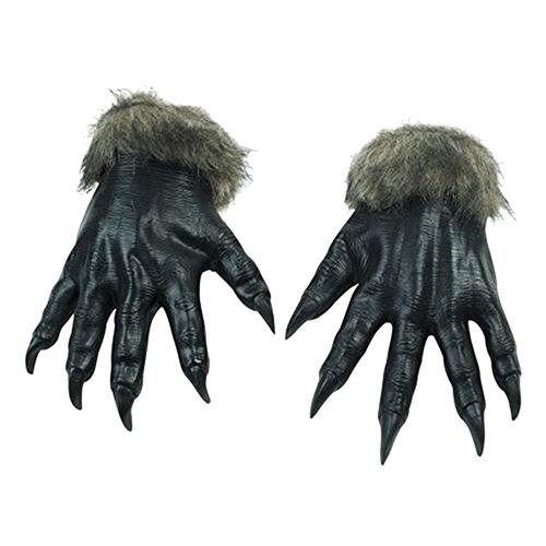 Varulvshänder Svarta - One size