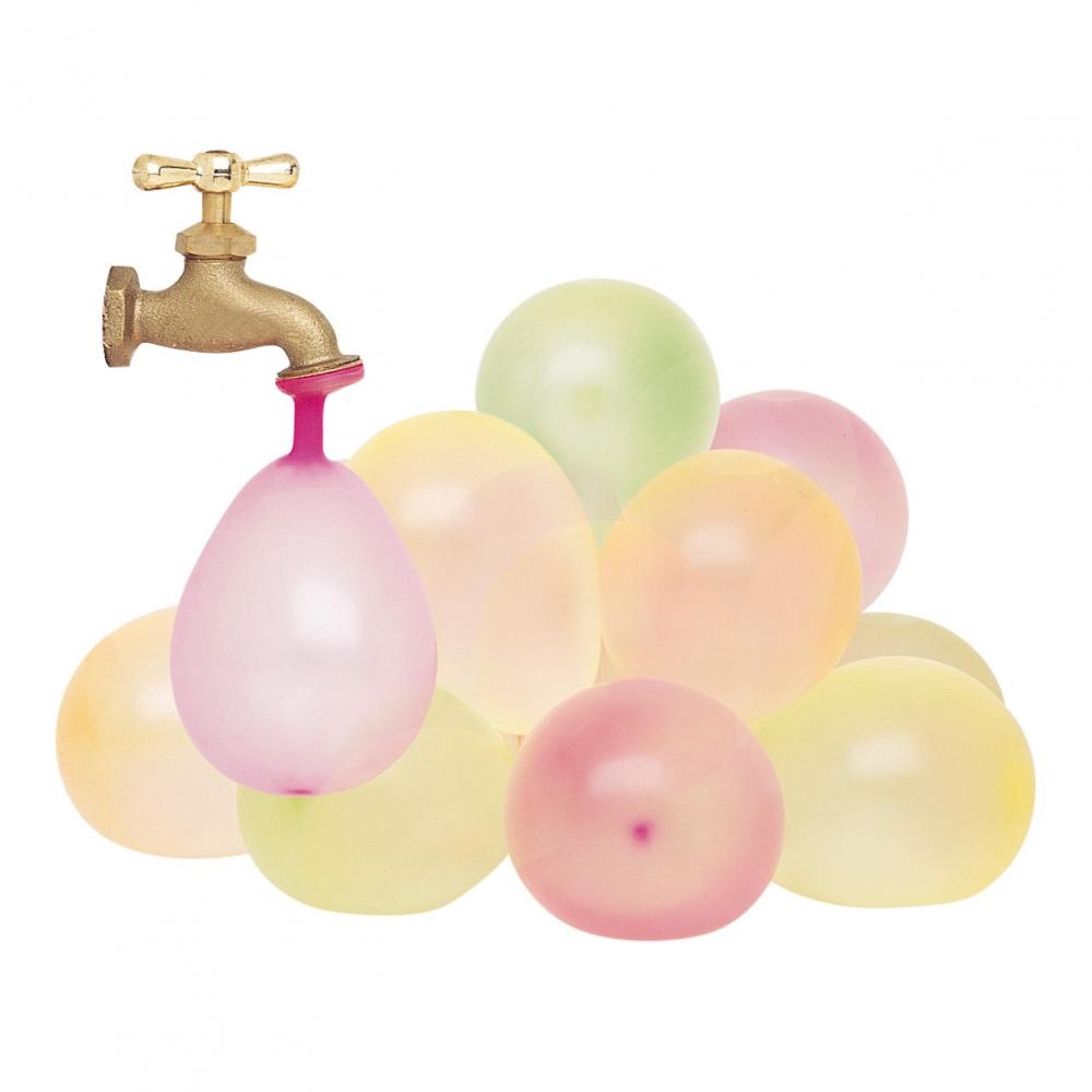 Vattenballonger Neonfärgade - 50-pack