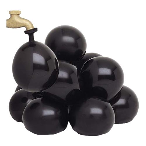 Vattenballonger Svarta - 50-pack