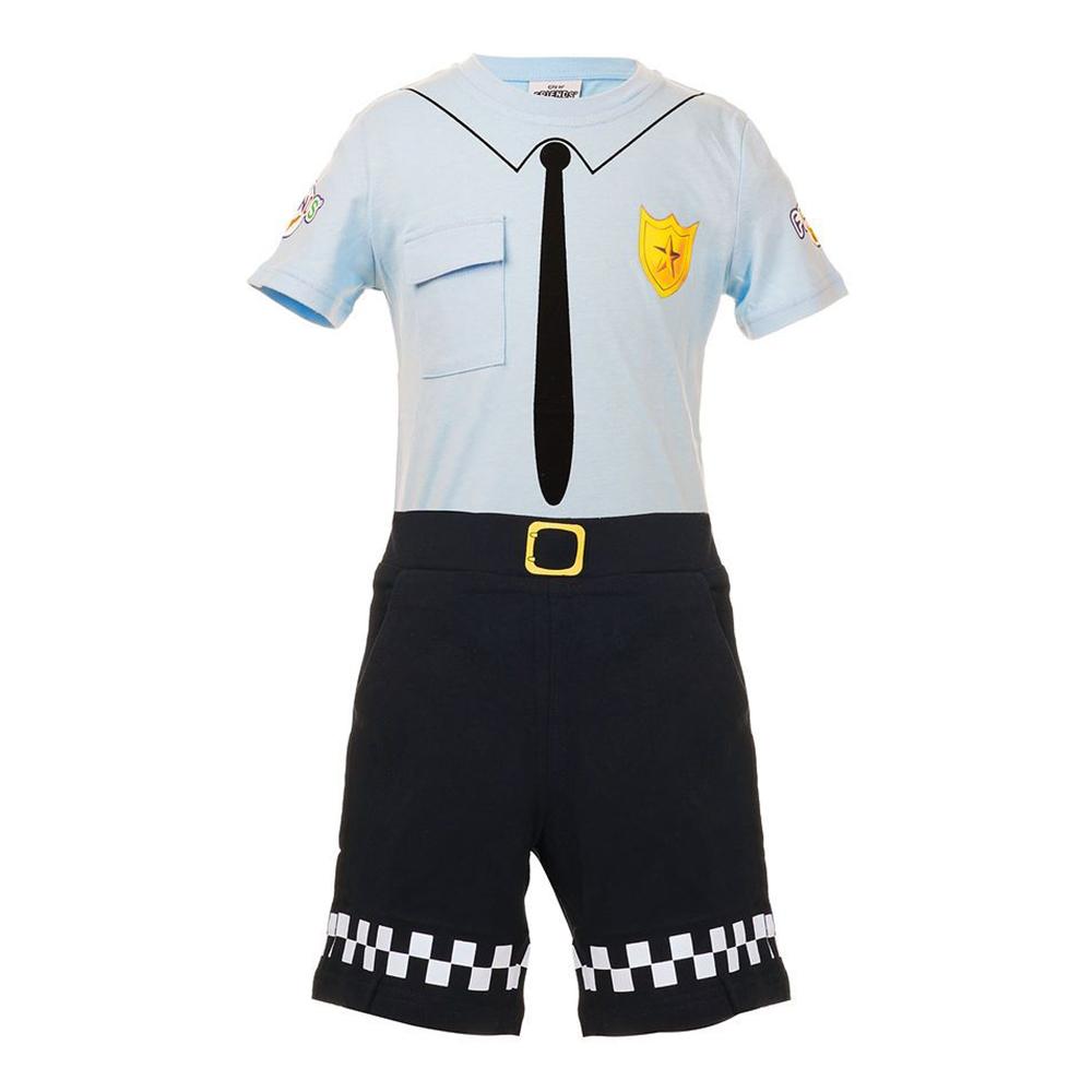 Vännernas Stad Max Uniform Maskeraddräkt - Small