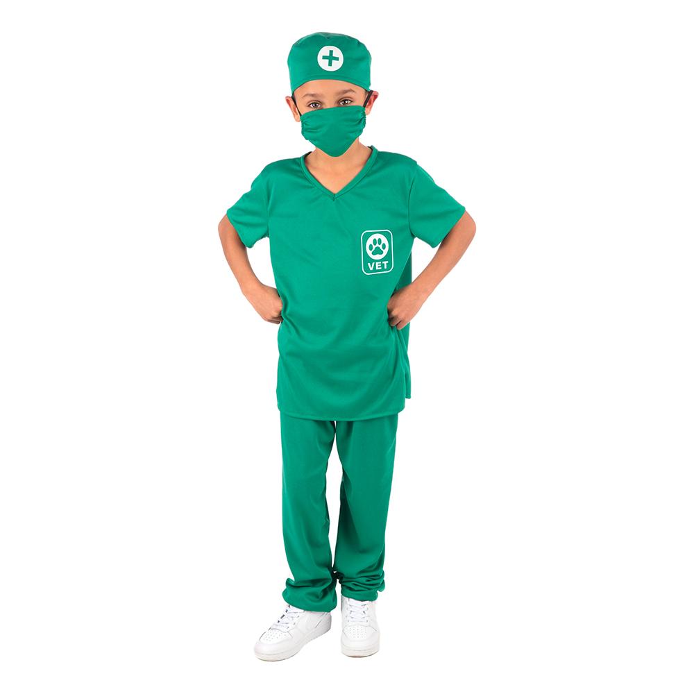 Veterinär Barn Maskeraddräkt - Medium