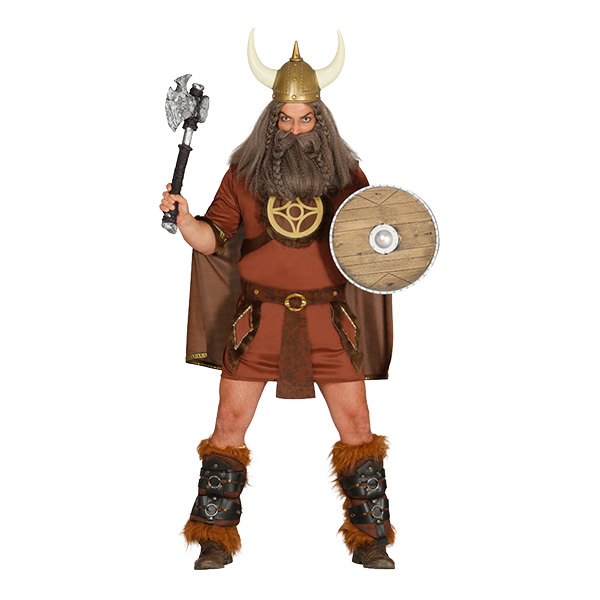Viking Man Maskeraddräkt - One size