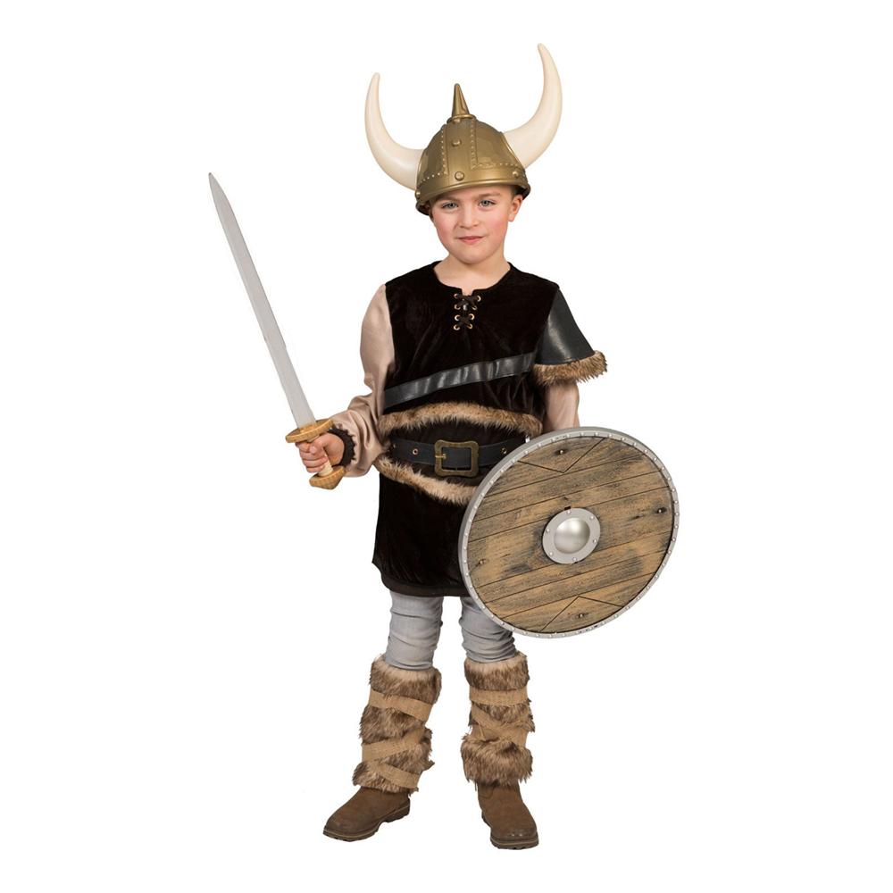 Viking Ragnon Barn Maskeraddräkt - Small
