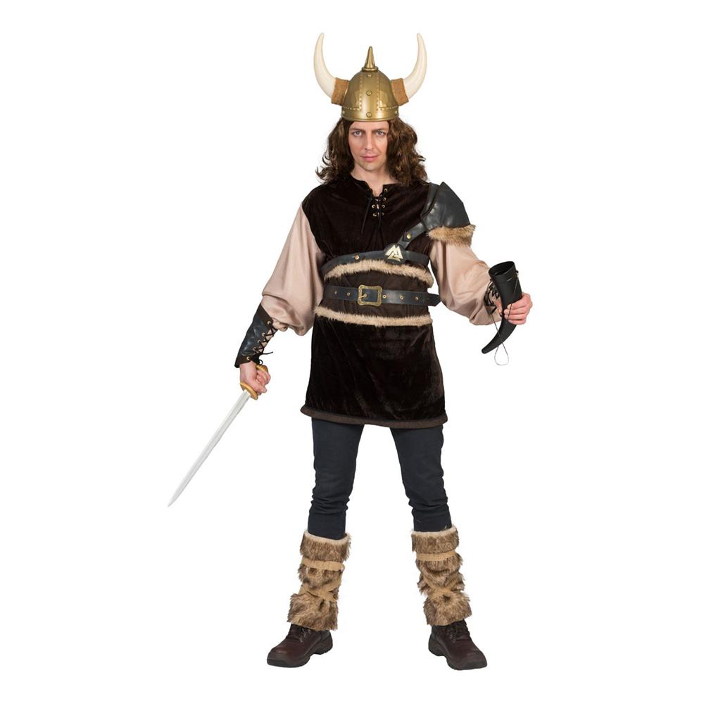 Viking Ragnon Maskeraddräkt - Small
