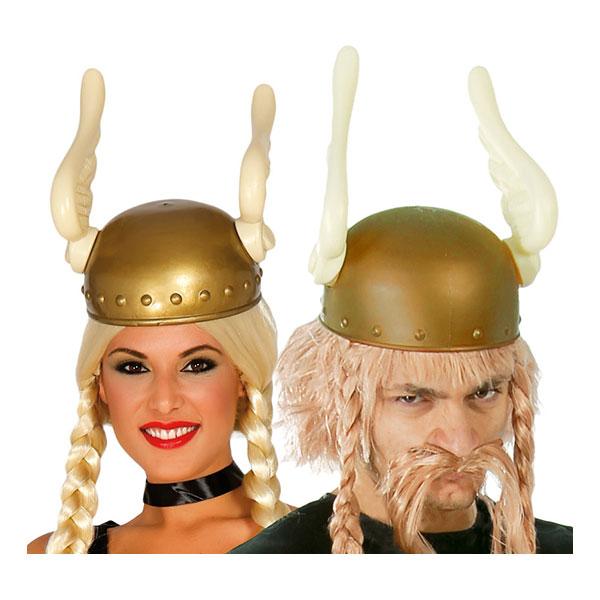 Vikingahjälm med Vingar - One size