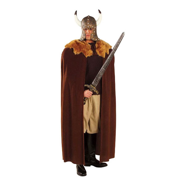 Vikingamantel Brun - One size